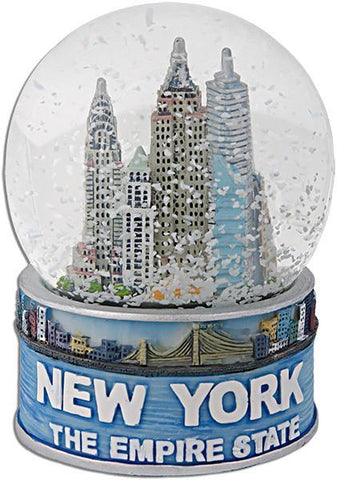 SNNY05 Water Globe 65mm Glass New York Empire State
