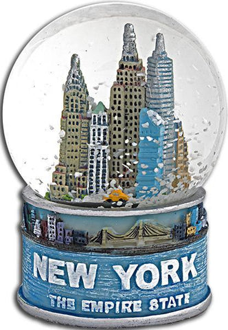 SNNY12 Water Globe 45mm Glass New York Empire State