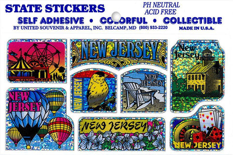 STNJ1 Sticker Pack New Jersey