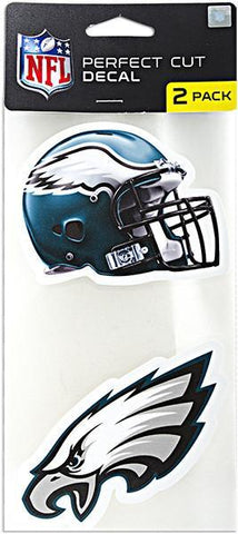 STPE6 Decal Perfect Cut 2-Pack Philadelphia Eagles
