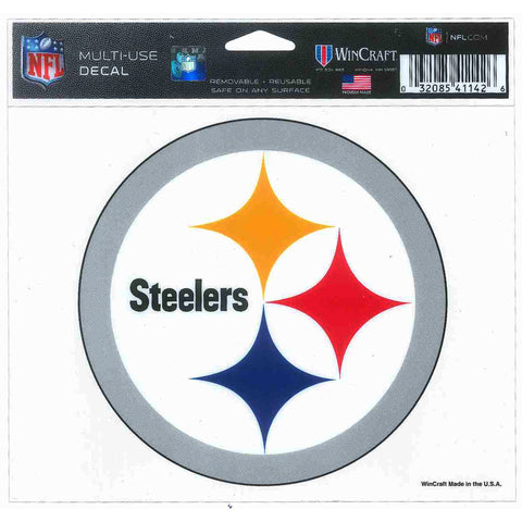 STST3 5x6 Ultra Decal - Pittsburgh Steelers