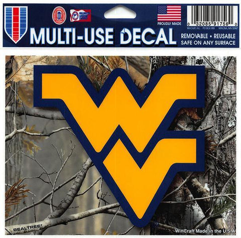 STWU1 Decal Real Tree Camo West Virginia University