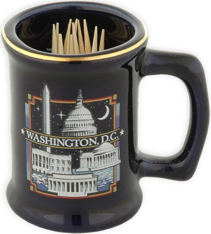 TPDC1 Toothpick Holder Cobalt Washington DC at Night