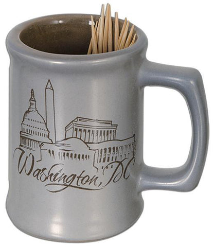 TPDC5 Toothpick Holder Metallic Washington DC