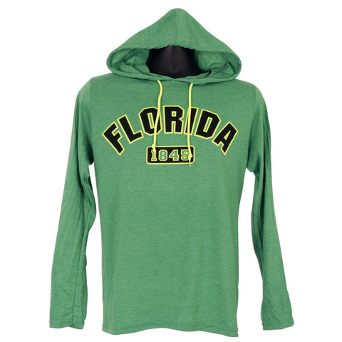 TSFL01G Long Sleeve Hooded T-Shirt Florida NEON HEATHER GREEN