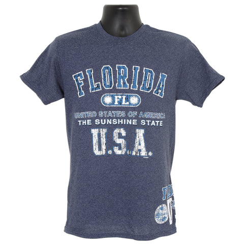TSFL02D T-Shirt Florida 2 Hit DENIM HEATHER