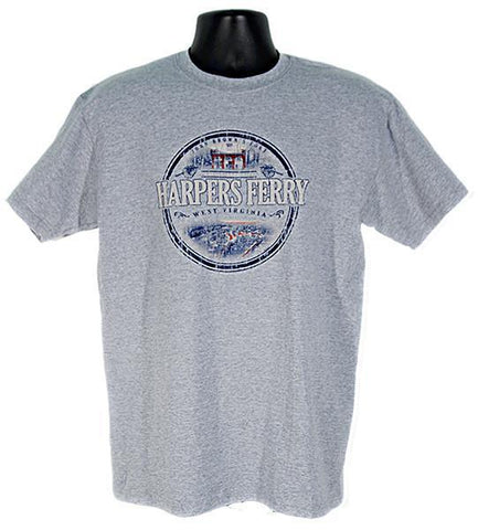 TSHF03G T-Shirt Harpers Ferry Circle Sport Grey