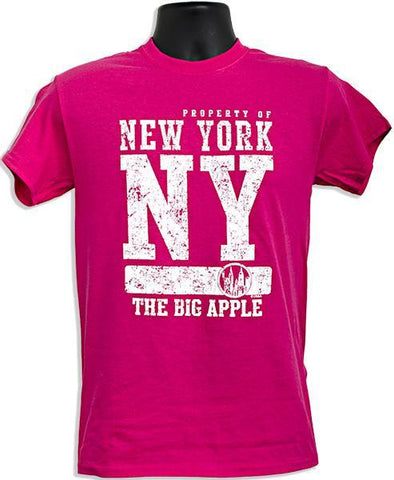 TSNY02H3 T-Shirt - Property of NY HELICONIA