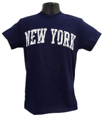 TSNY16N T-Shirt New York Arch Distress NAVY