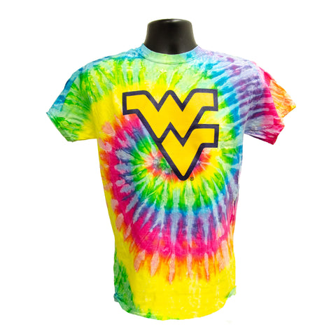 TSWU12S Tie Dye T - Flying WV SATURN