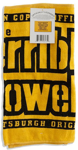 TWST2 Terrible Towel - Gold - Pittsburgh Steelers