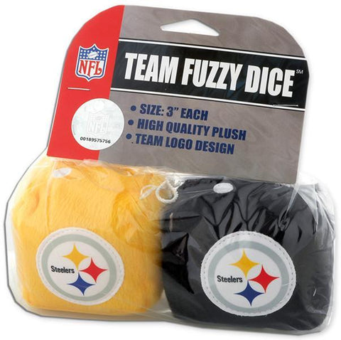 TYST01 Fuzzy Dice Pittsburgh Steelers
