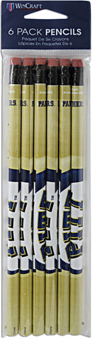 WRUP1 Pencils 6 Pack University of Pittsburgh