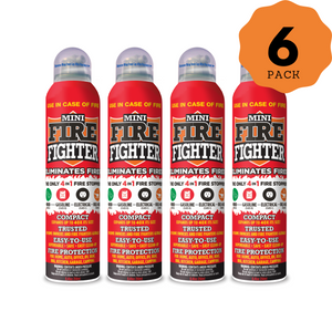 Mini Firefighter (6-Pack)