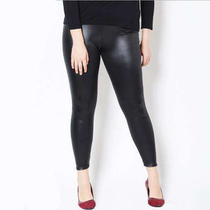 Faux Leather Leggings,Blissful Chic