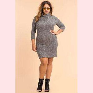 Lynnie Sweater Dress,Blissful Chic