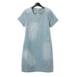 Pearlie Denim Dress