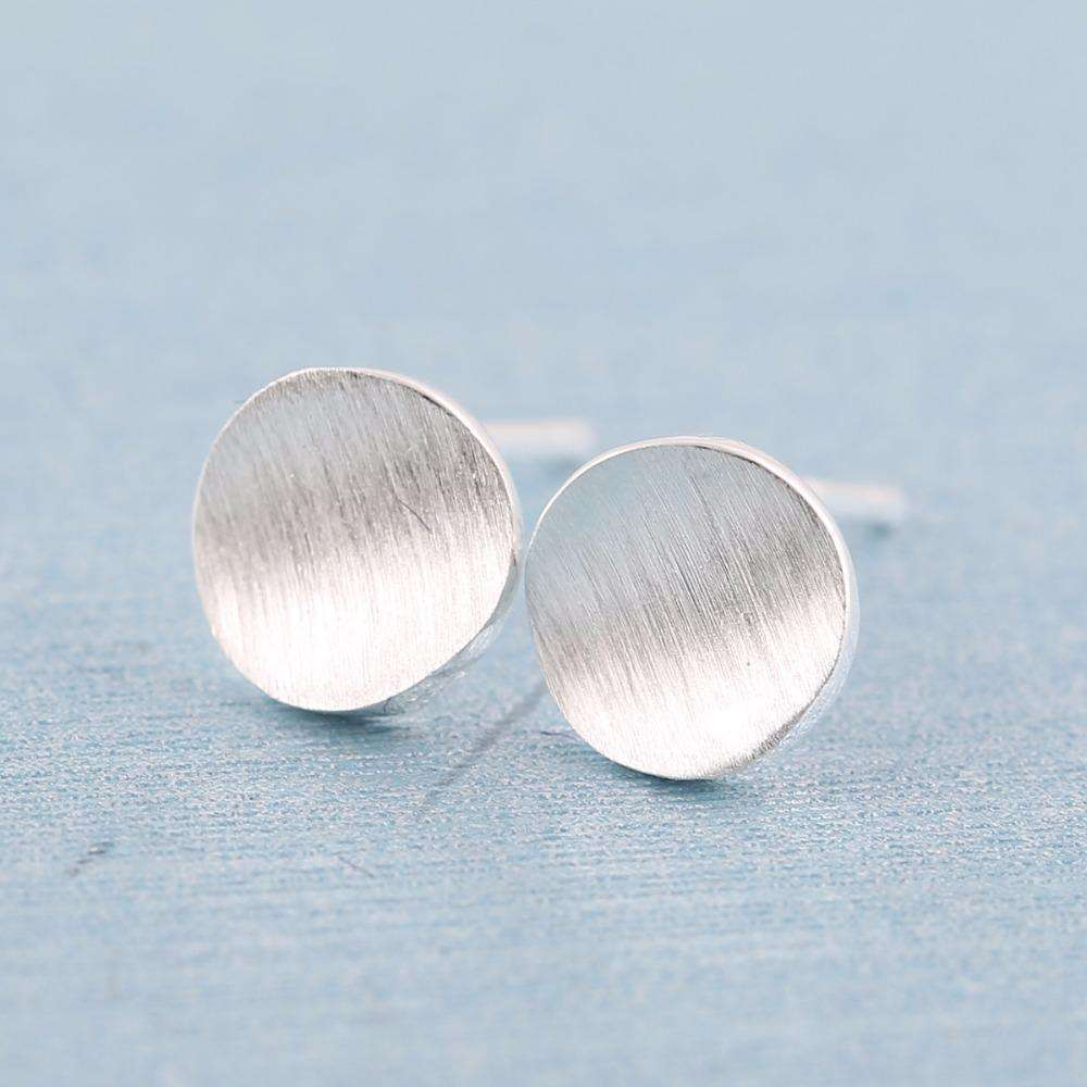 Mattie Round Earrings,Blissful Chic