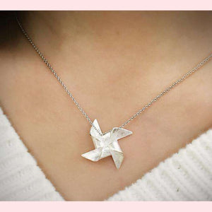 Pinwheel Necklace,Blissful Chic