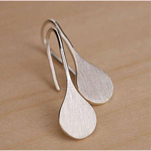 Silver Raindrop Earrings,Blissful Chic