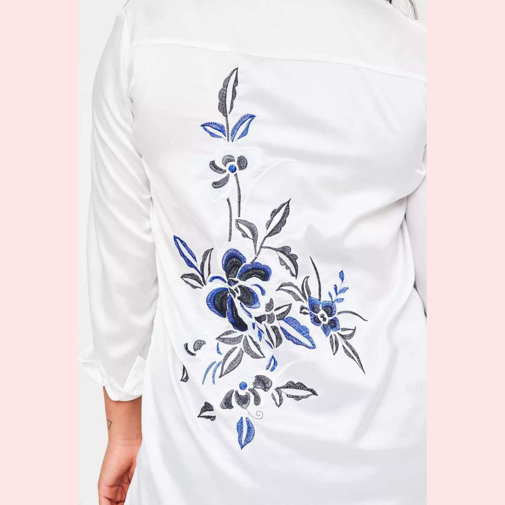Wildflowers Long Top,Blissful Chic
