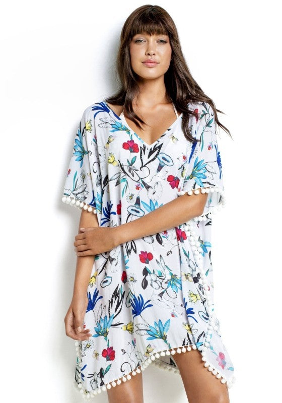 Boho Garden Swimsuit Cover Up