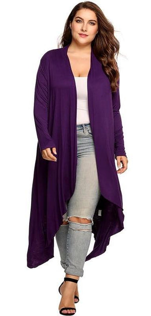 Flowy Long Cardigan