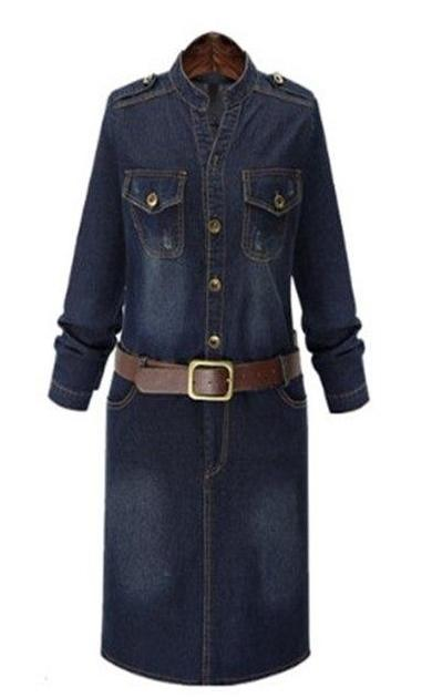 Dallas Denim Dress