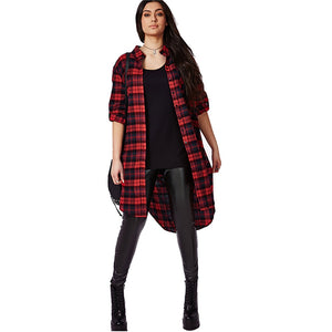 Long Lumberjack Top
