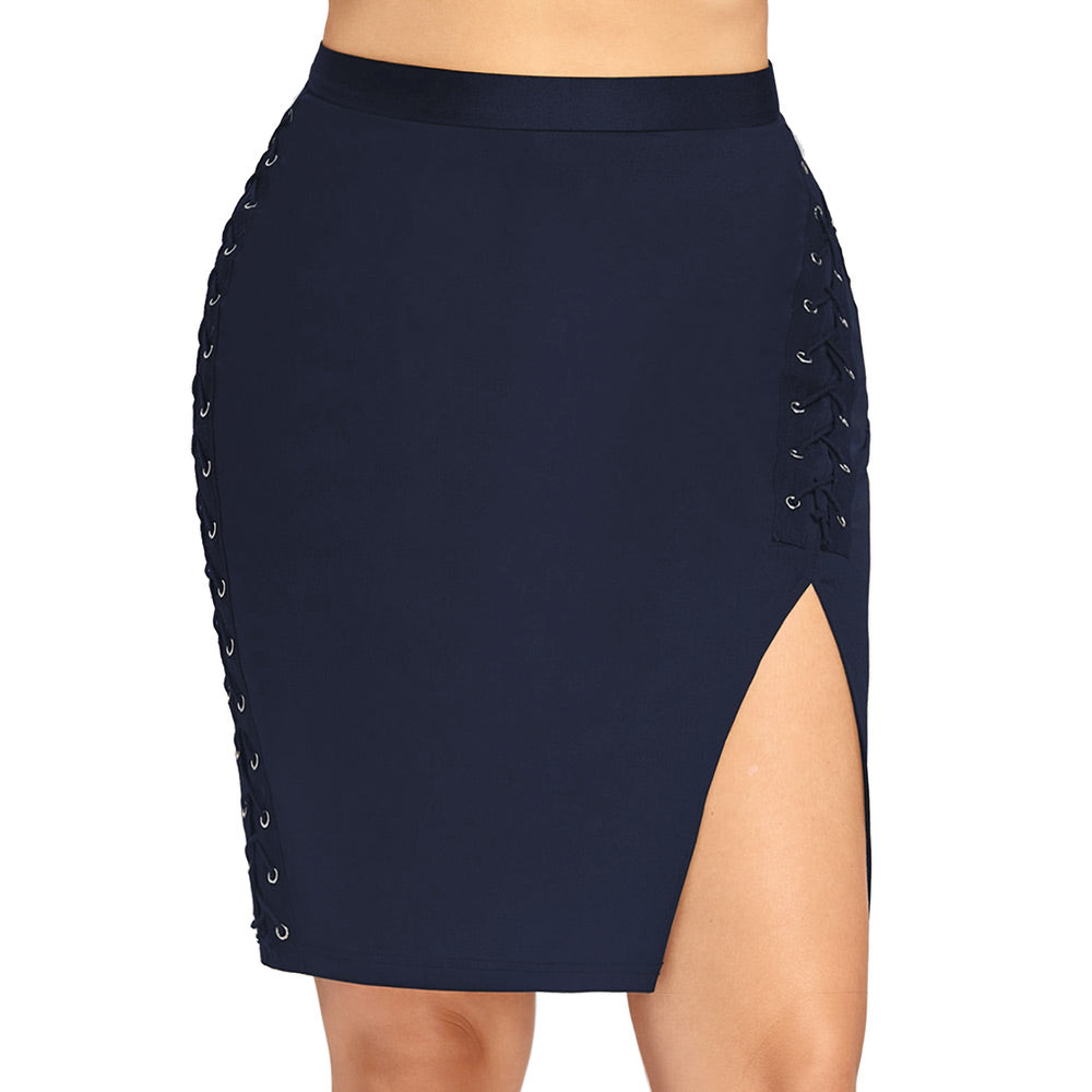 Criss Cross Pencil Skirt