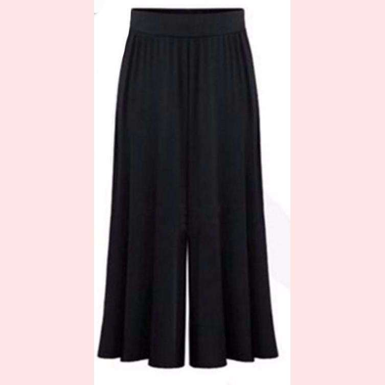 Breezy Palazzo Pants,Blissful Chic,black / 3XL