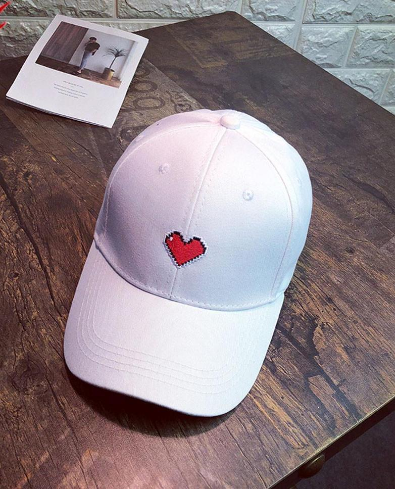 Arcade Heart Street Pop Baseball Cap