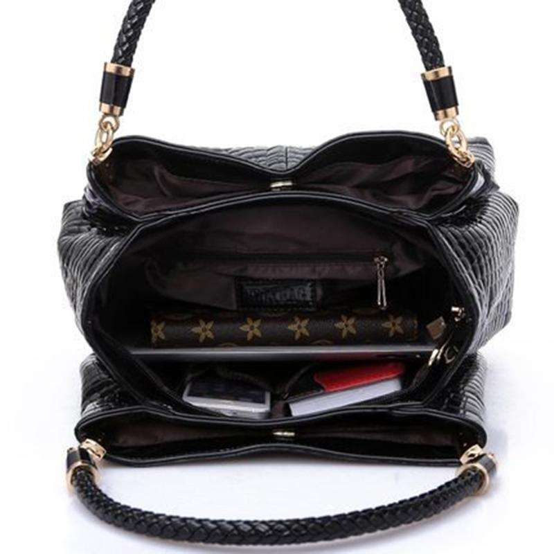 Alli Faux Leather Handbag,Blissful Chic