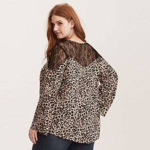 Lacey Leopard Top