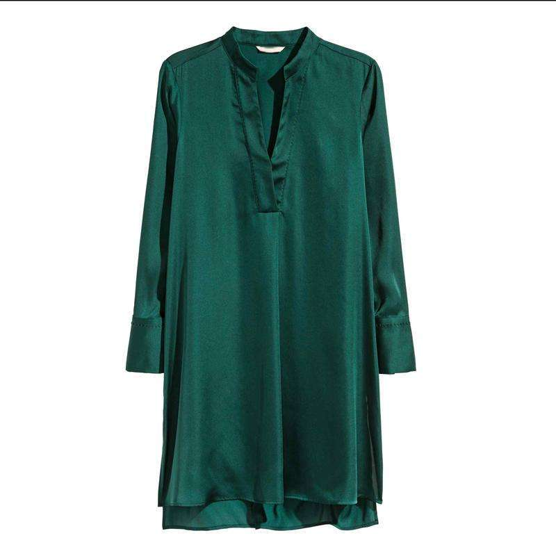Vivant Tunic,Blissful Chic,Emerald Green / 3XL
