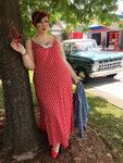 Dotty Maxi Dress