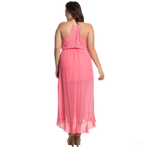 Ruffled Pink-A-Licious Dress