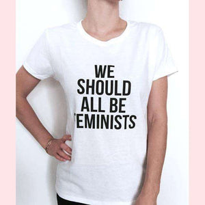 We Should All Be Feminists T-Shirt,Blissful Chic