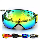 Natural Home Cool Mirror Snow Goggles