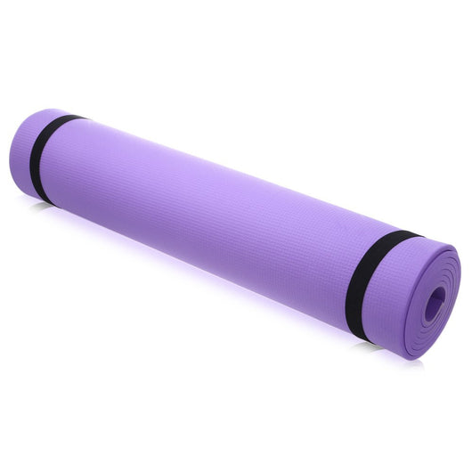 Solid Color 6 mm Yoga Mat