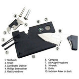 Multi Purpose Pocket Survival Knife Card