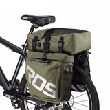 Roswheel 37 Liter 3--in-1 Double Bicycle Pannier Bag