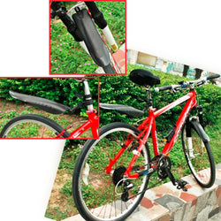 Adjustable Bicycle Front/Rear Mud Guard Fenders