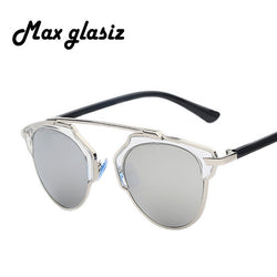 Max glasiz Vintage Metal Sunglasses