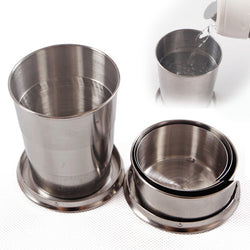 Stainless Steel Collapsible Cup