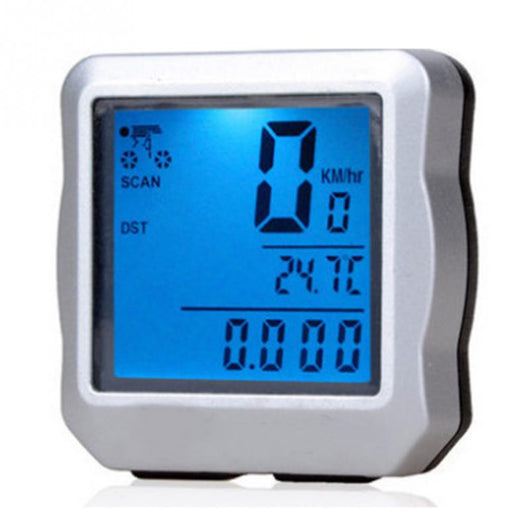 Waterproof Digital Bicycle Computer (Odometer-Speedometer-Clock-Stopwatch)