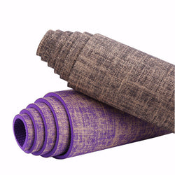 Natural Jute and PVC Premium Yoga Mat