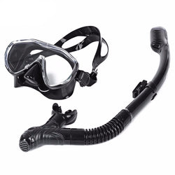 Diving Mask and Silicone Snorkel Set