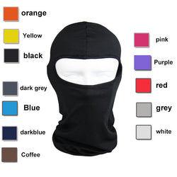 Solid Color Balaclava Face Mask