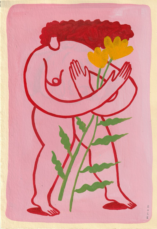 Rose Jaffe, Yellow Flower